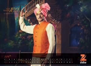 Zee Talkies Celebrity Calendar January 2013