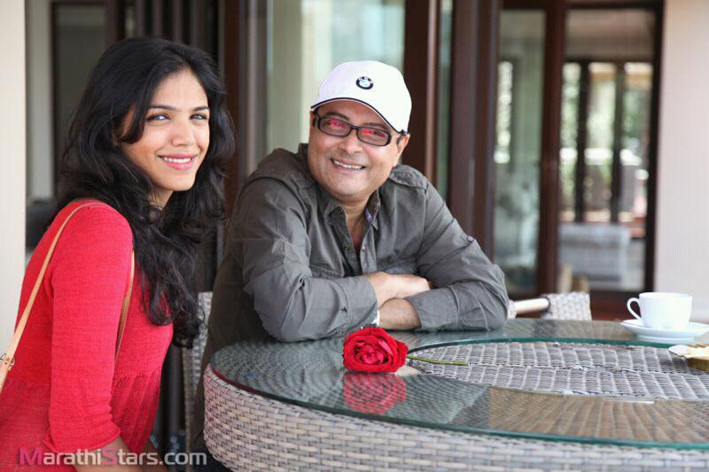 Sachin Pilgaonkar with daughter Shriya