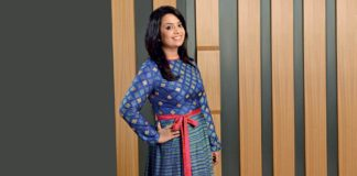 Amruta Fadnavis - Wife of Maha CM makes Marathi film debut