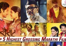 Top 5 Highest Grossing Marathi Movies - Box Office Collection
