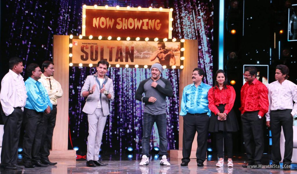 Bollywood Superstar Salman Khan in Chala Hawa yevu Dya