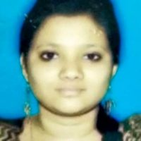 Puja Thombre childhood photo