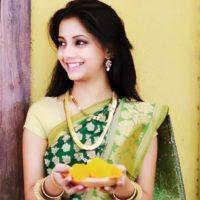 Sayali Sanjeev In Saree Photos