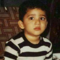 Shrikar Pitre childhood photo