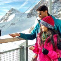 Kahe Diya Pardes Zee Marathi Serial Switzerland