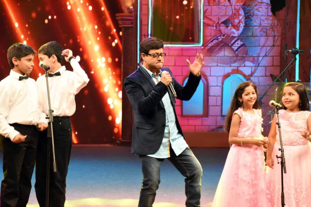 Sachin Pilgaonkar Singing Performance zee yuva Sargam