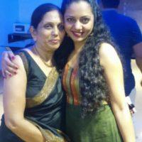 Neha Joshi with Mother