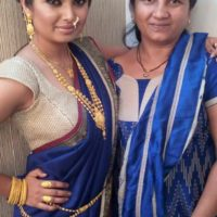 Prajakta Mali With Her Mother
