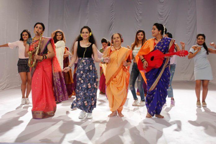 Sunidhi Chauhan Sings Colors Marathi's Kunku Tikli Aani Tattoo Title Song